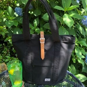 Herschel Supply Co Market Tote Black/Tan